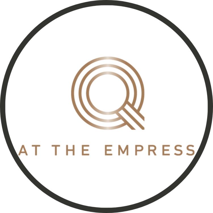 Logo for q at the empress restaurant