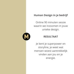Human Design zakelijk toepassen