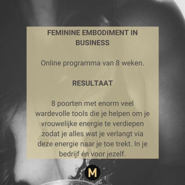 Feminine Embodiment in Business Maike Maessen