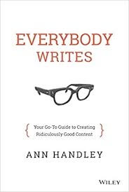 inbound marketing: livro everybody writes