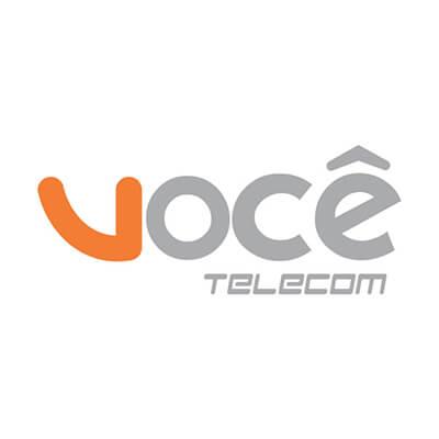 Logomarca da empresa Você Telecom