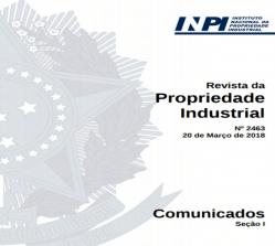 Revista da Propriedade Industrial INPI