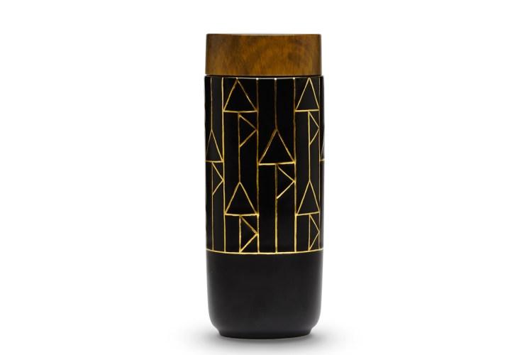 he-Alchemical-Signs-Tumbler-Black-vertical-pattern-Hand-painted-100_-liquid-golden-line
