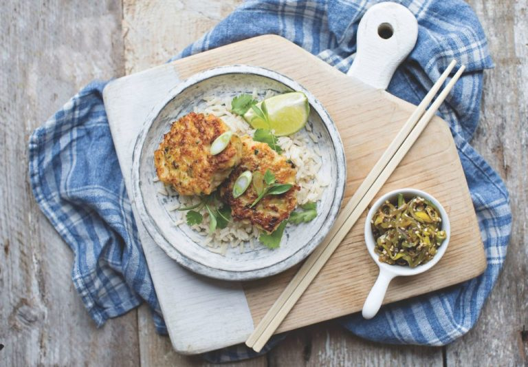 Neven Maguire spicy prawn cakes with ginger