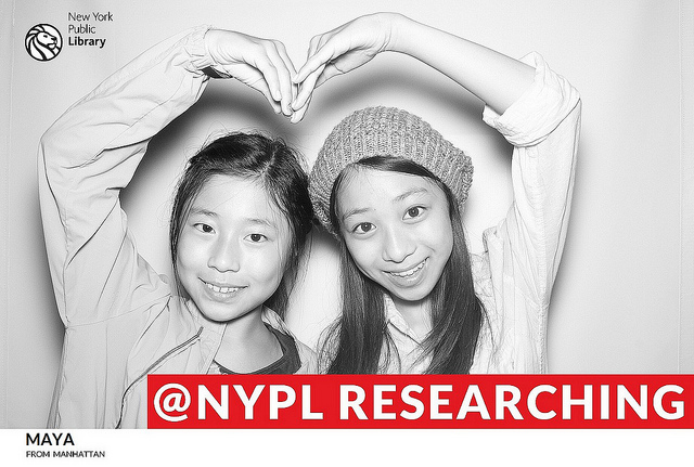 NYPL photo booths