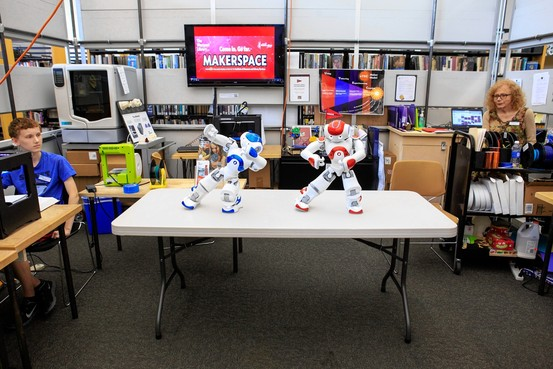 Robots Join the Library