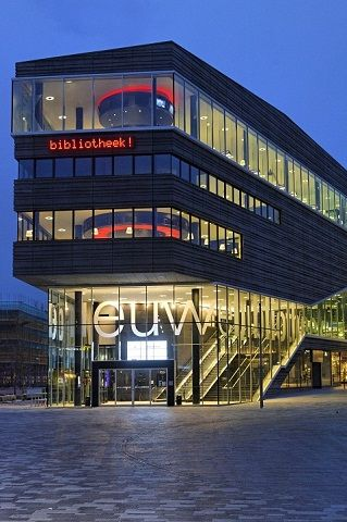 the new public library in Almere
