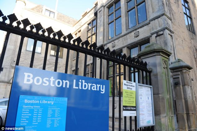 Boston Library in Lincolnshire