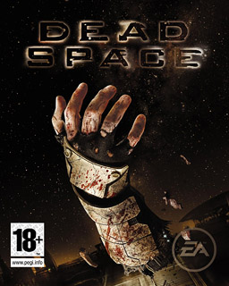 The cover depicts the words Dead Space in blac...