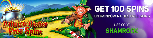 Get 50 Free Spins on Rainbow Riches Pick N' Mix