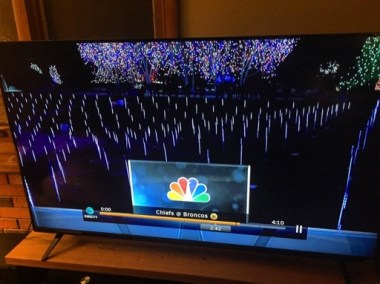 Blossoms of Light was featured on national TV during Monday Night Football