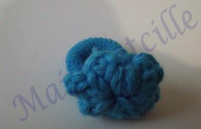 élastique bleu