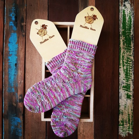 Tricot Chaussettes Fine And Dandy Socks