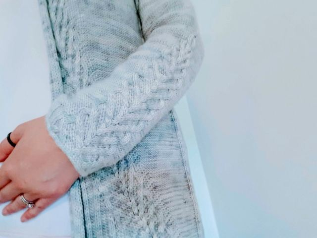 Tricot Gilet Cardigan Ink 2