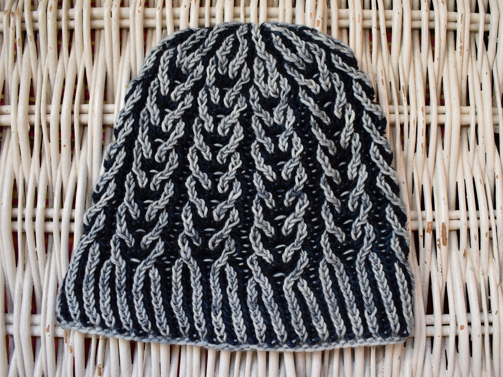 Tricot Bonnet Magic Brioche 1