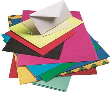 Piles of Envelopes