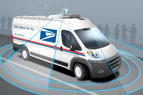 USPS Autonomous Vehicles
