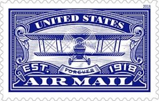 100 year anniversary airmail