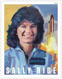 Sally Ride Stamp