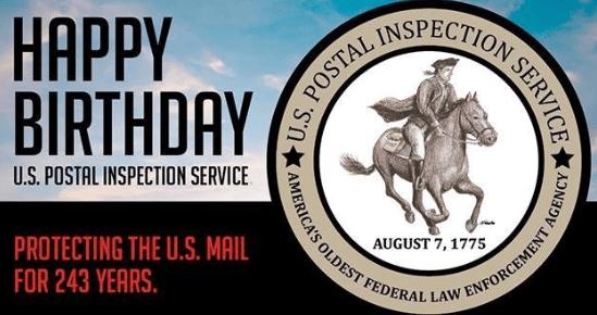 USPS PIS Happy Birthday