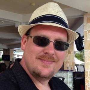 Picture of me at Divi Carina Bay in St. Croix - Island Blog