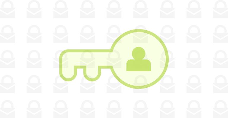 personal data keys
