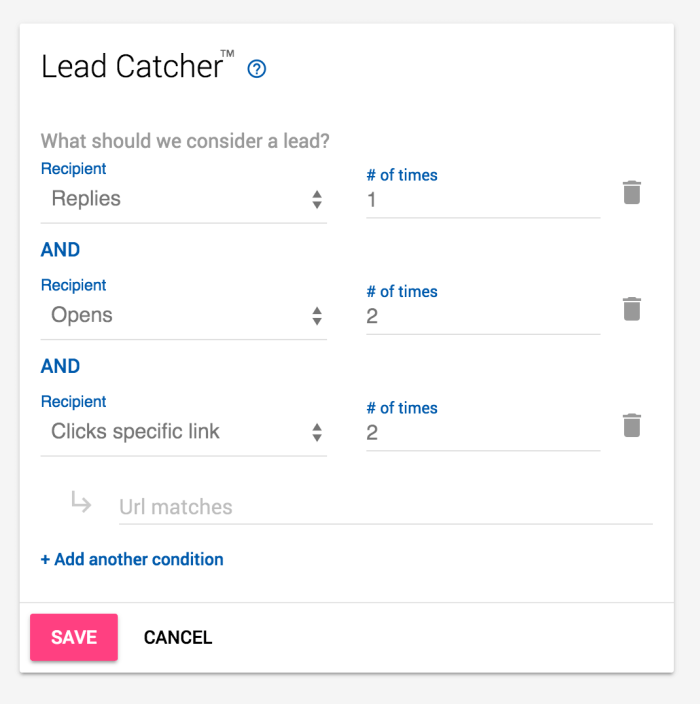 Mailshake Leadcatcher