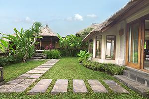 Garden Villa Exterior with Gazebo 300