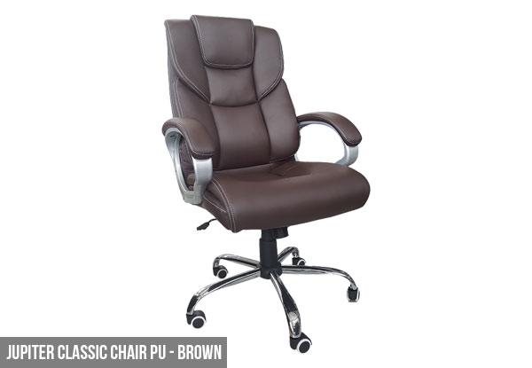 Padded Office Chair Range GrabOne NZ