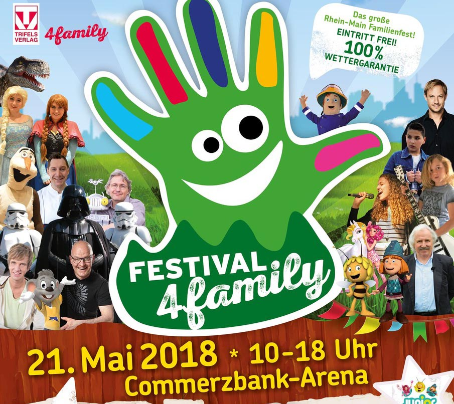 Festival4Family in der Commerzbank-Arena