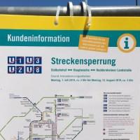 U-Bahn-Baustelle live erleben