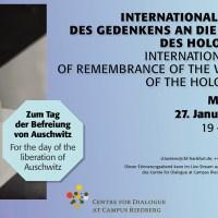Online-Veranstaltung zum Holocaust-Gedenktag