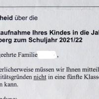 """""""Das Losverfahren bei der Schulplatzvergabe ist eine Katastrophe"""""""