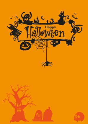 Halloween Letterpress Design