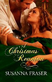Cover for A Christmas Reunion by Susanna Fraser
