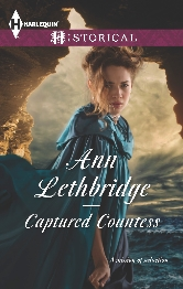 Cover for Captured Countess by Ann Lethbridge
