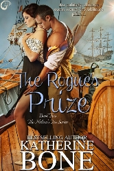 Cover for The Rogue's Prize by Katherine Bone
