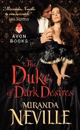 Cover for The Duke of Dark Desires by Miranda Neville