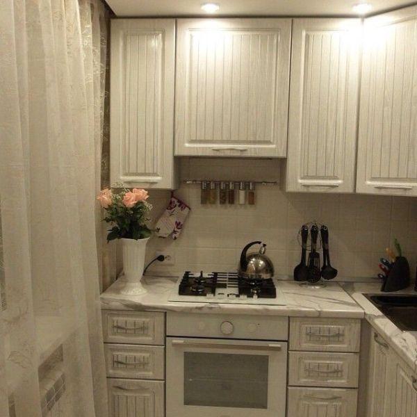 Дизайн кухни в хрущевке 20 фото идей