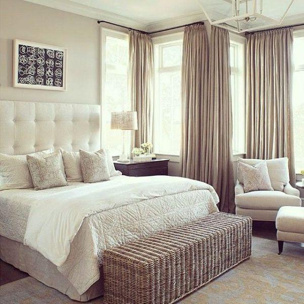 Как правильно поставить кровать в спальне: 15 фото примеров