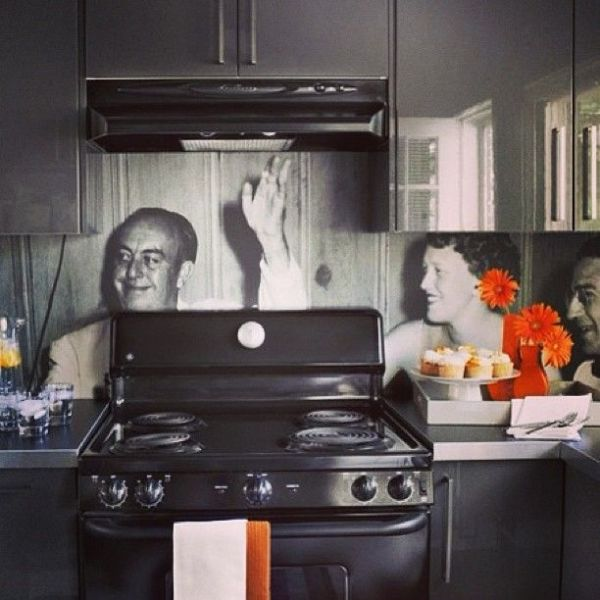 Скинали для кухни: 20 фото