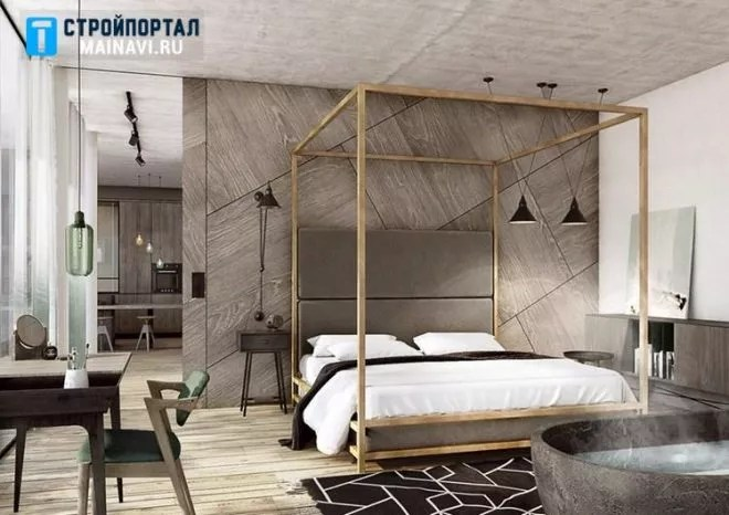 дизайн спальни в современном стиле 2