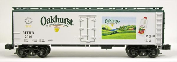 2010 Oakhurst Dairy Reefer Club Car