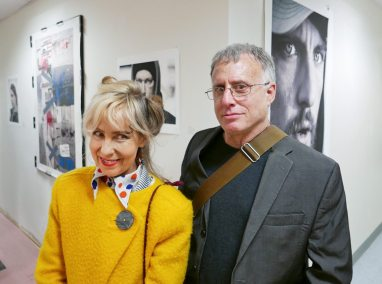 Jane and Rich Entel wade photo at GGG opening 2 of 1 copy