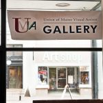 UMVA Gallery at CTN. sign at 516 Congress St.