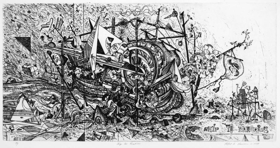 "Carl Little—On Robert Neuman's ""Ship to Paradise"""