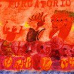 """Alan Crichton, """"Il Purgatorio"""", watercolor_paper, 4""""x6"""", 2015"""