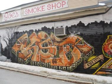 Beem 18 Joe s Smoke Shop Graffitio Mural by Koi and Turdle gone copy