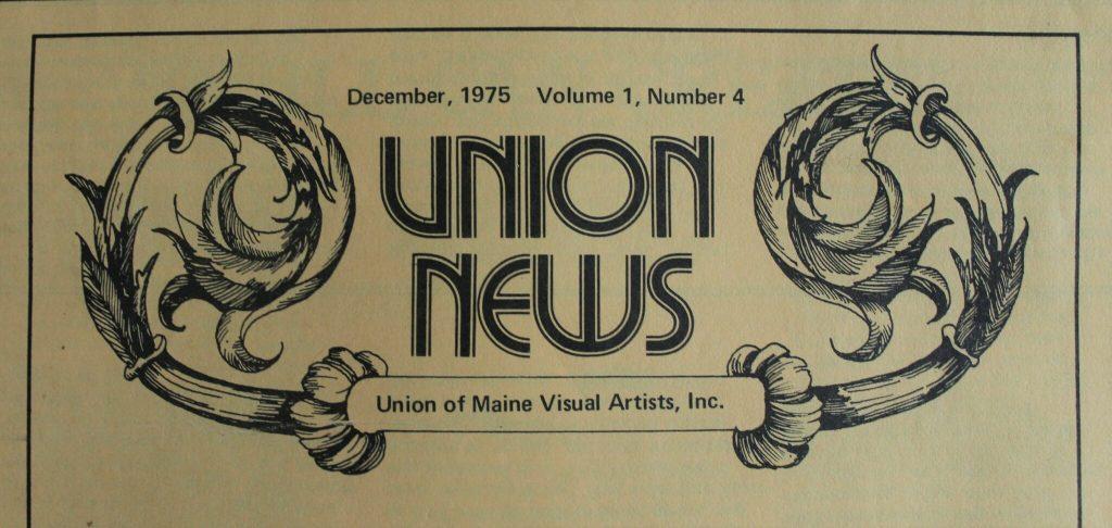 UMVA Newsletter Logo 1975