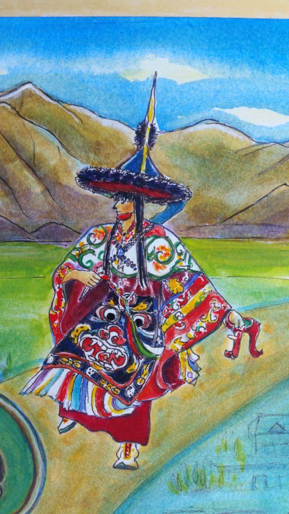 Dougherty 4 Tibetan Cham Dancercopy